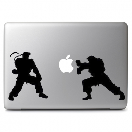 Street Fighter Silhouette - Apple Macbook Air Pro 11