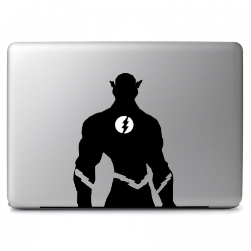 DC Comics Flash with Glowing Lightning Bolt Emblem - Apple Macbook Air Pro 11