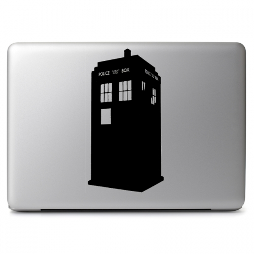 Doctor Who Tardis - Apple Macbook Air Pro 11