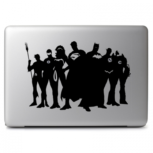 DC Comics Justice League Super Heroes - Apple Macbook Air Pro 11