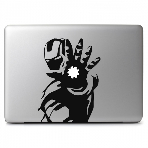 Marvel Comics Iron Man with Glowing Repulsor - Apple Macbook Air Pro 11