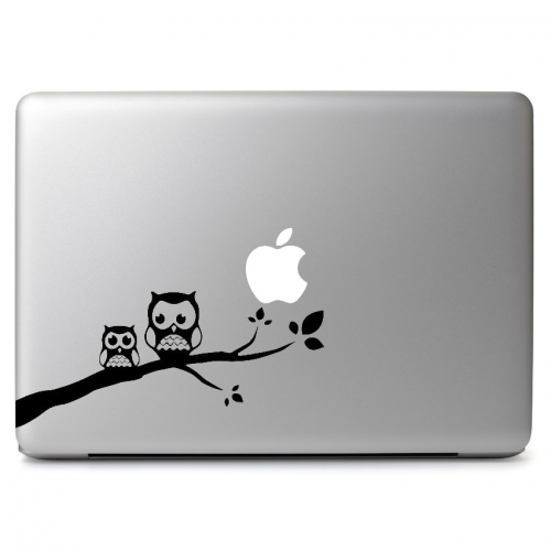 Owls On a Branch - Apple Macbook Air Pro 11