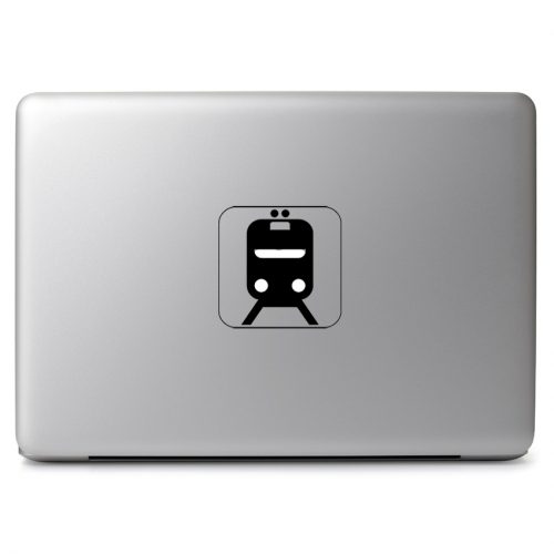 Incoming Train Logo - Apple Macbook Air Pro 11