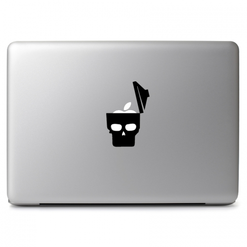 Trash Can Face - Apple Macbook Air Pro 11