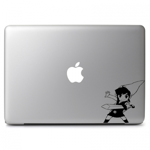 Smiling Link from The Legend of Zelda - Apple Macbook Air Pro 11