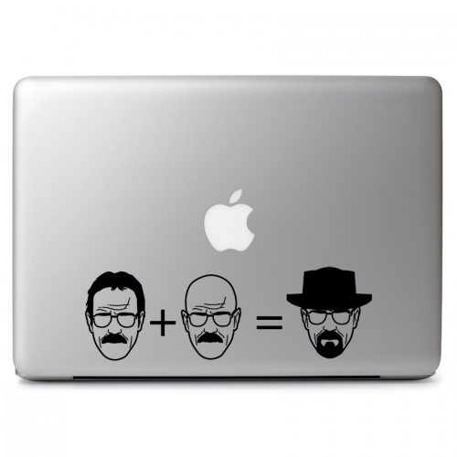 Heisenberg Walter White Equation Breaking Bad - Apple Macbook Air Pro 11