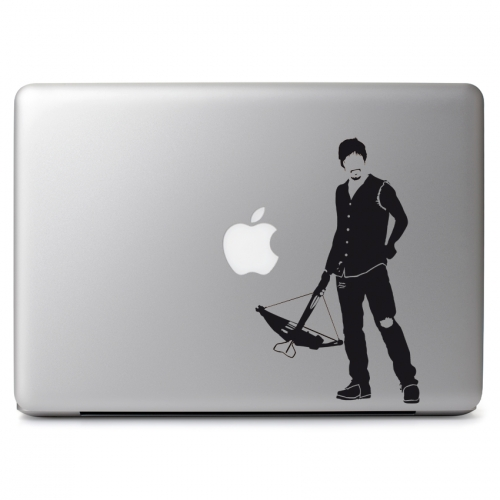 The Walking Dead Daryl Dixon with Crossbow - Apple Macbook Air Pro 11