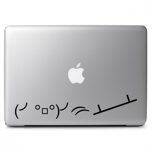 Flipping Table Emojicon - Apple Macbook Air Pro 11
