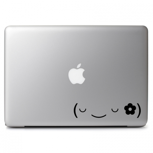 Sleepy Flower Girl Emojicon - Apple Macbook Air Pro 11