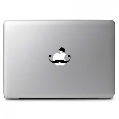 Handlebar Mustache - Apple Macbook Air Pro 11