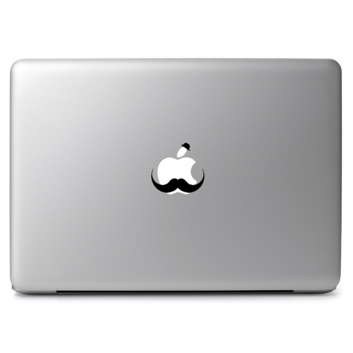 Large Mustache - Apple Macbook Air Pro 11