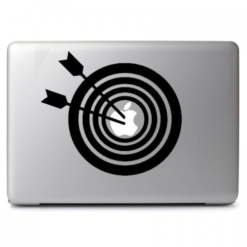Archery Bullseye Target - Apple Macbook Air Pro 11