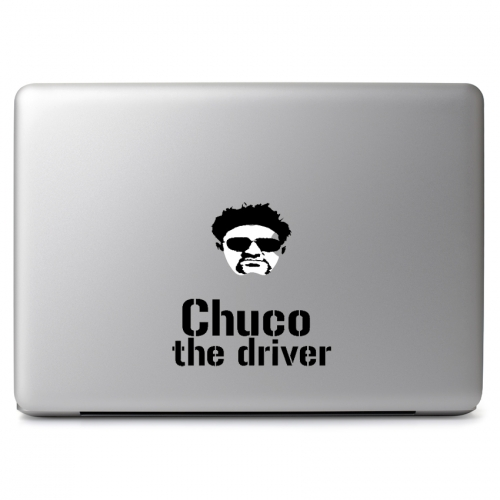 Chuco The Driver Logo - Apple Macbook Air Pro 11
