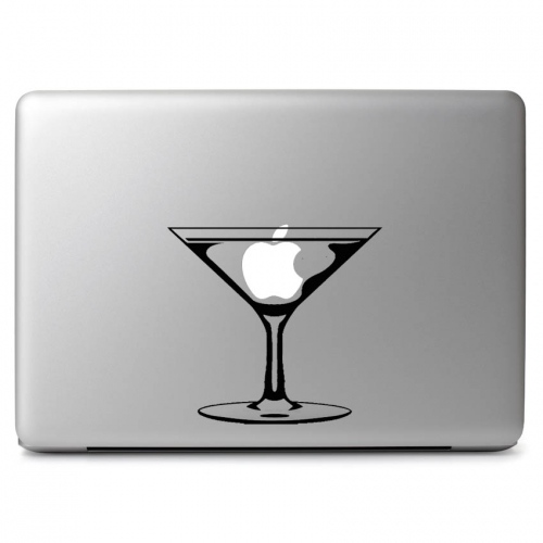 Apple Cocktail Martini Alcohol Glass - Apple Macbook Air Pro 11