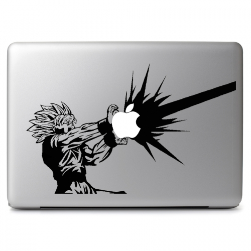 Dragon Ball Z Super Saiyan 2 Goku Kamehameha Attack - Apple Macbook Air Pro 11
