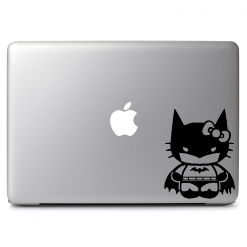 DC Comics Sanrio Cute Hello Kitty Superhero Batman - Apple Macbook Air Pro 11