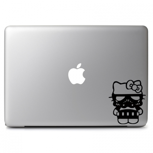Hello Kitty Star Wars Stormtrooper - Apple Macbook Air Pro 11