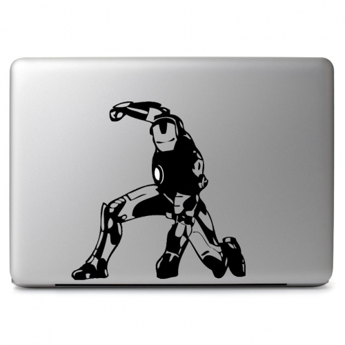 Marvel Comics Iron Man Pose with Glowing Arc Reactor - Apple Macbook Air Pro 11