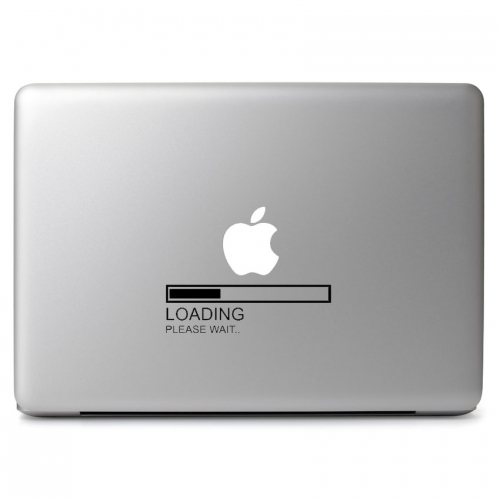 Apple Loading Please Wait Sign - Apple Macbook Air Pro 11