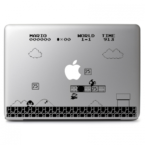 Mario Retro Game - Apple Macbook Air Pro 11