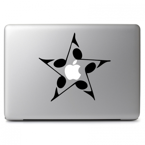 Music Note Star - Apple Macbook Air Pro 11