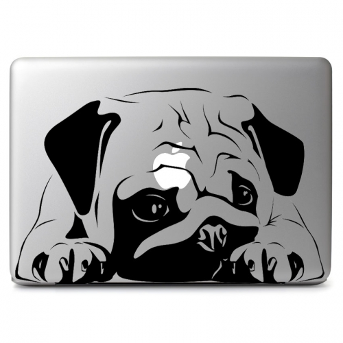 Big Pug Dog - Apple Macbook Air Pro 11