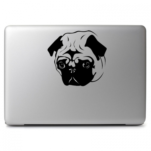 Pug Dog Face - Apple Macbook Air Pro 11