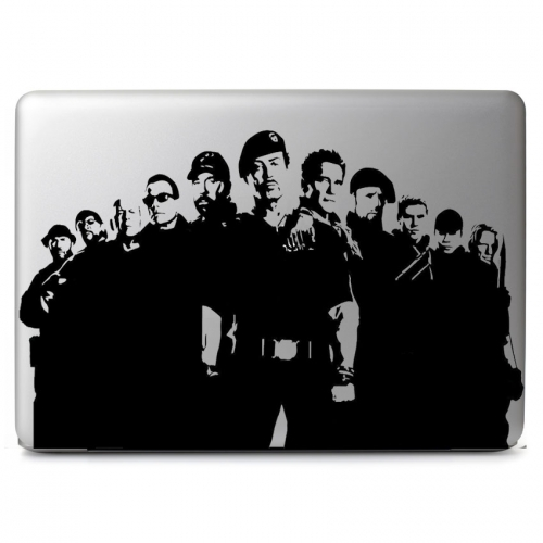 "The Expendables - Apple Macbook Air Pro 11"" 13"" 15"" 17"" Vinyl Decal Sticker"