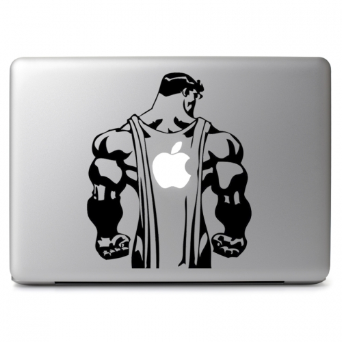 Apple Man Superman Parody - Apple Macbook Air Pro 11