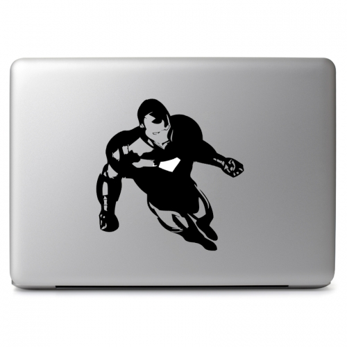 Marvel Comics Flying Iron man Mark VI Triangular Arc Reactor - Apple Macbook Air Pro 11