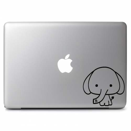 Cute Baby Elephant - Apple Macbook Air Pro 11