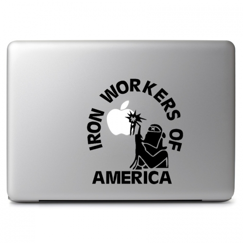 Iron Workers of America Logo - Apple Macbook Air Pro 11