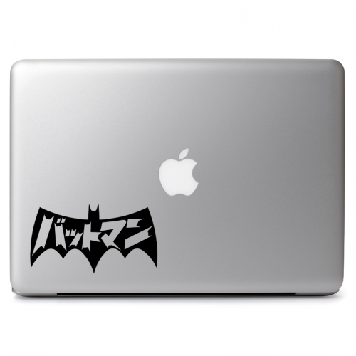 DC Comics Batmanga Japanese Batman Logo - Apple Macbook Air Pro 11