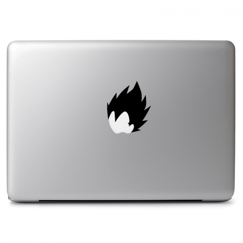 Dragon Ball Z Vegeta's Hair - Apple Macbook Air Pro 11