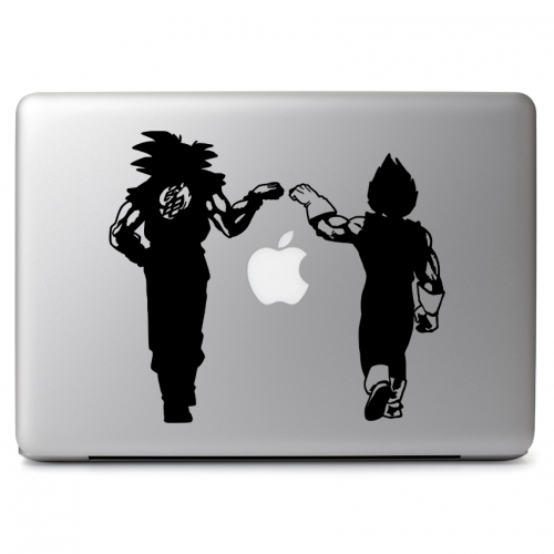 Dragon Ball Z Vegeta & Goku Fist Bump - Apple Macbook Air Pro 11