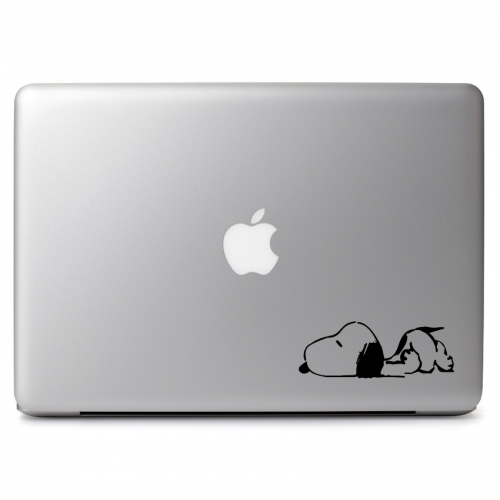 Peanuts Sleepy Lazy Snoopy - Apple Macbook Air Pro 11