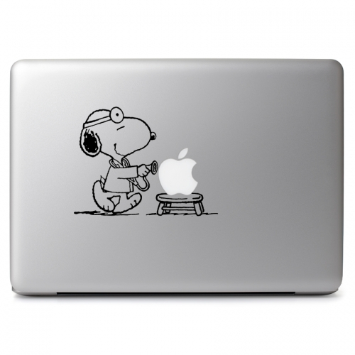 Peanuts Doctor Snoopy - Apple Macbook Air Pro 11