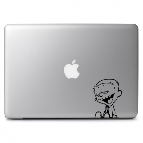 Calvin & Hobbes Silly Photo Face - Apple Macbook Air Pro 11