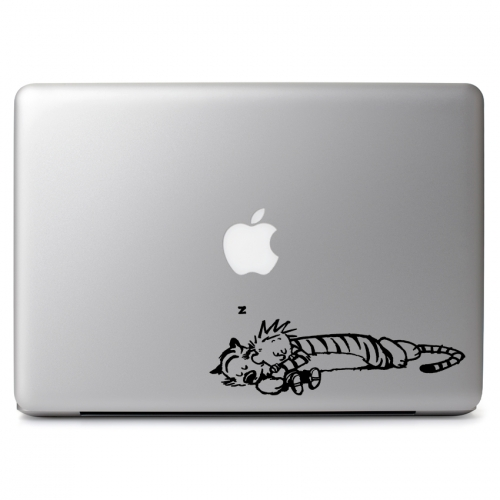 Calvin & Hobbes Cute Cuddle - Apple Macbook Air Pro 11