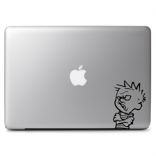 Calvin & Hobbes Yuck! Disgusted Face - Apple Macbook Air Pro 11