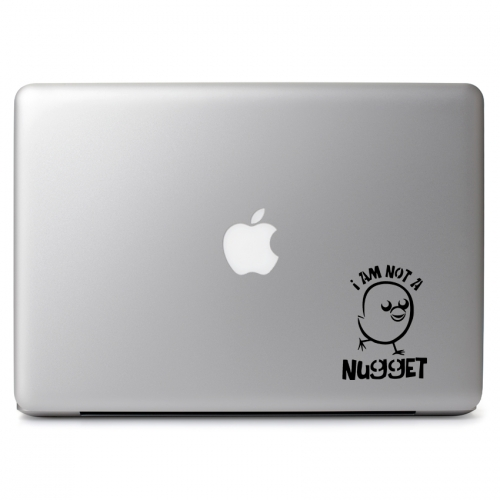 Peta I Am Not a Nugget Promote Vegetarianism - Apple Macbook Air Pro 11