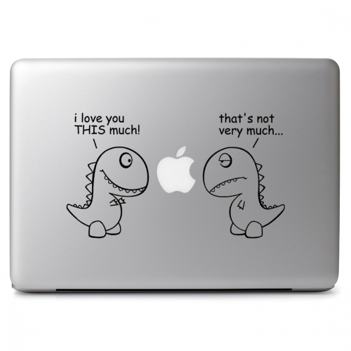 T-Rex I Love You This Much - Apple Macbook Air Pro 11