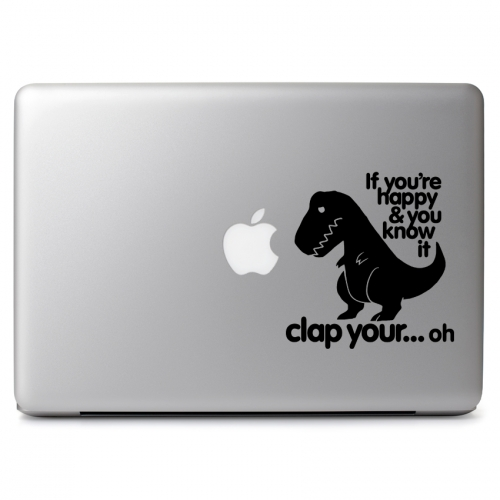 T-Rex Clap Your Hands - Apple Macbook Air Pro 11