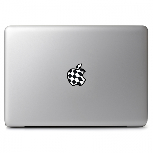 Checkered Apple Design - Apple Macbook Air Pro 11