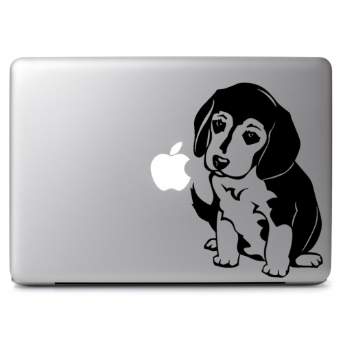 Cute Puppy Beagle Dog - Apple Macbook Air Pro 11