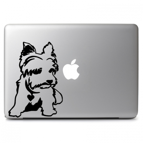 Yorkshire Terrier Dog - Apple Macbook Air Pro 11