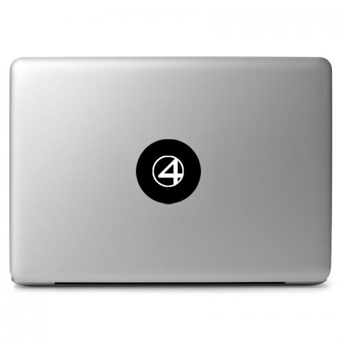 Fantastic Four Logo - Apple Macbook Air Pro 11