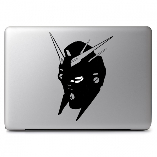 Detailed Gundam Head - Apple Macbook Air Pro 11