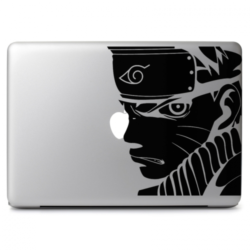 Naruto Scowl - Apple Macbook Air Pro 11