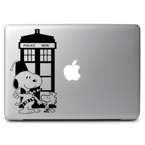 Doctor Who Snoopy Crossover - Apple Macbook Air Pro 11